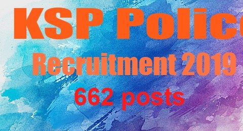 KSP recruitment 2019