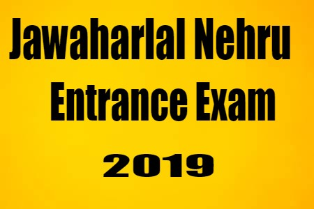 NTA JNU Admission Online Form 2019