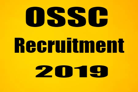 OSSC Recruitment 2019