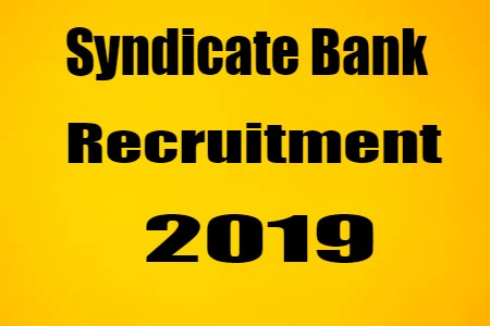syndicate recruitment 2019