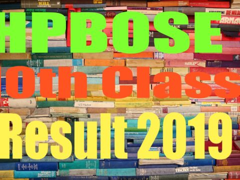 HPBOSE 10th Result 2019