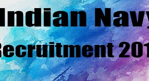 indian navy chargeman recruitment 2019