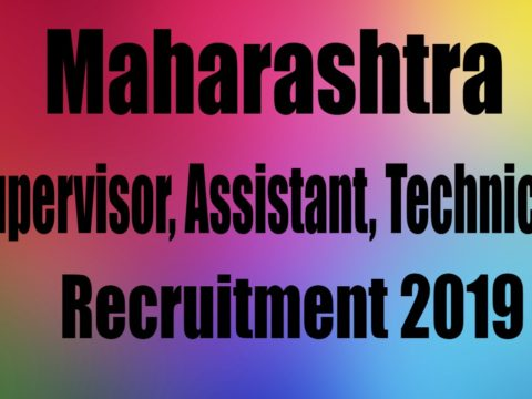 Maharashtra Zilla Parishad Recruitment 2019