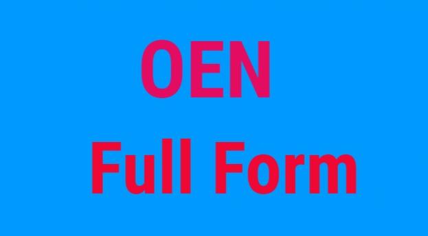 OEN Full Form