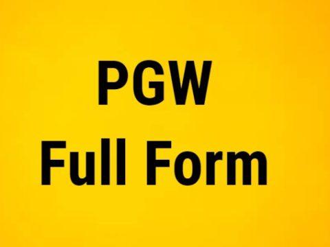 PGW Full Form