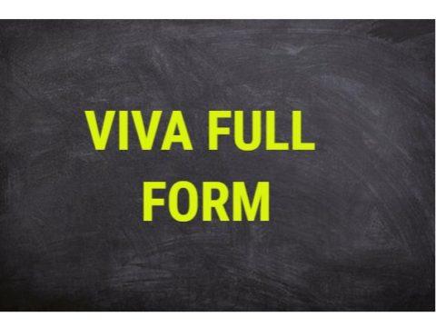 VIVA Full form