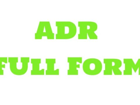 ADR Full Form
