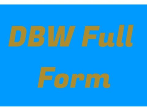DBW Full form