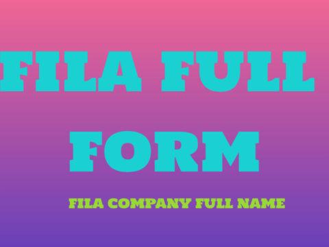 FILA Full Form